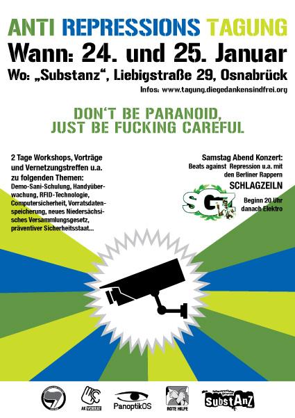 Anti-Rep-Tagung Osnabrück Januar 2009
