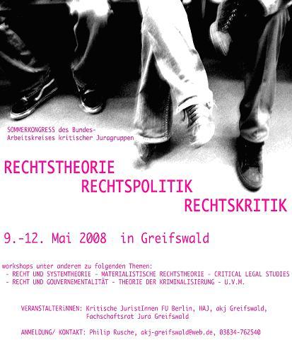 BAKJ Kongress Greifswald 2008