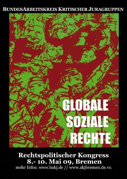 Plakat BAKJ-Kongress Bremen 2009